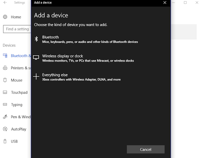 How to Project Windows 10 to TV With Miracast windows10 miracast wirelessdisplayordock