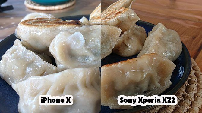 Sony Xperia XZ2 Review: Fantastic Camera, Unique Design xperia vs iphone comparison gyoza 670x377