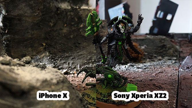 Sony Xperia XZ2 Review: Fantastic Camera, Unique Design xperia vs iphone comparison necron model 670x377