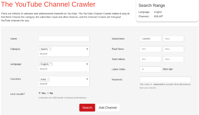 5 Ways to Discover New YouTube Channels or Users You Might Like youtube discover channels channelcrawler