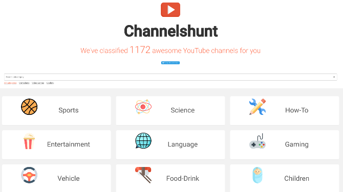 5 Ways to Discover New YouTube Channels or Users You Might Like youtube discover channels channelshunt