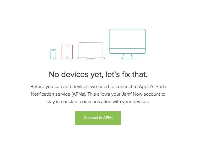 jamf now add apple devices