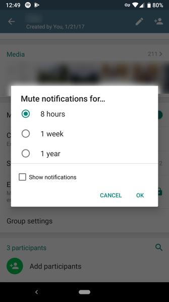 So stoppen Sie Benachrichtigungen über die Chat-App Ärger Sie