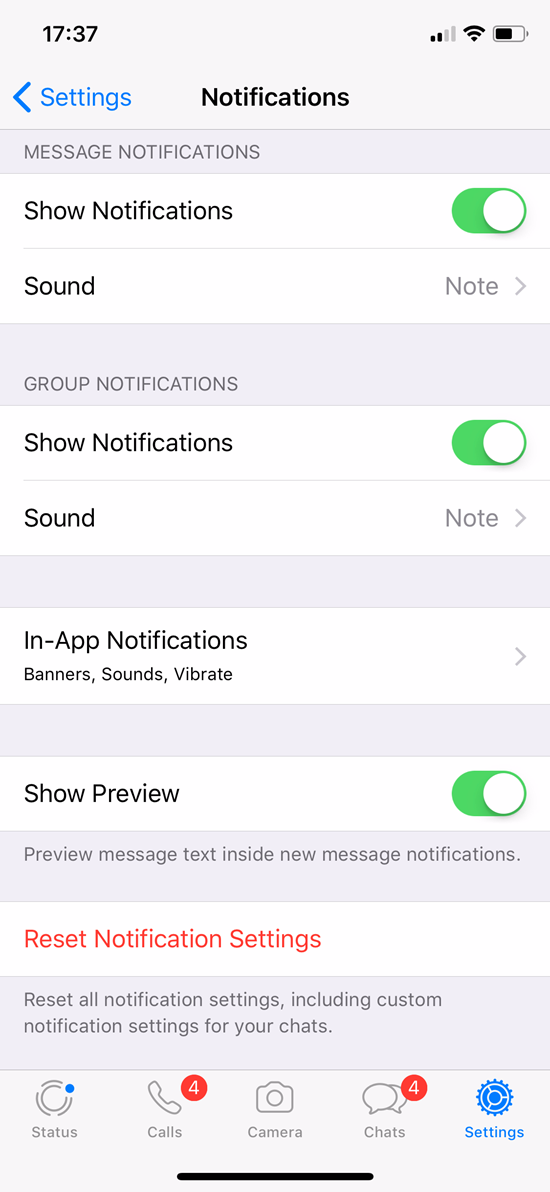 How to Stop Chat App Notifications Annoying You