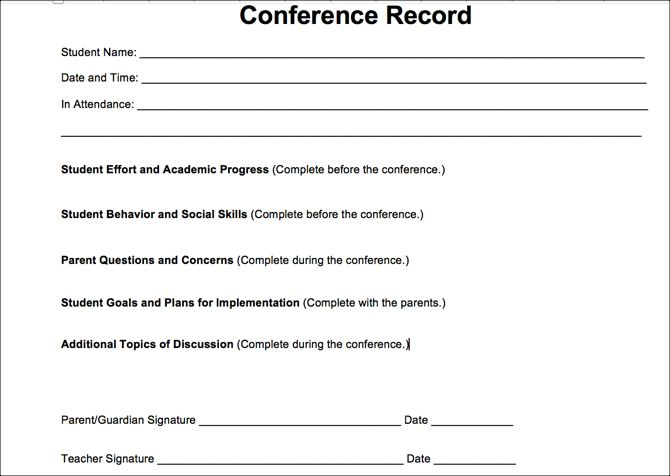 Conference Record