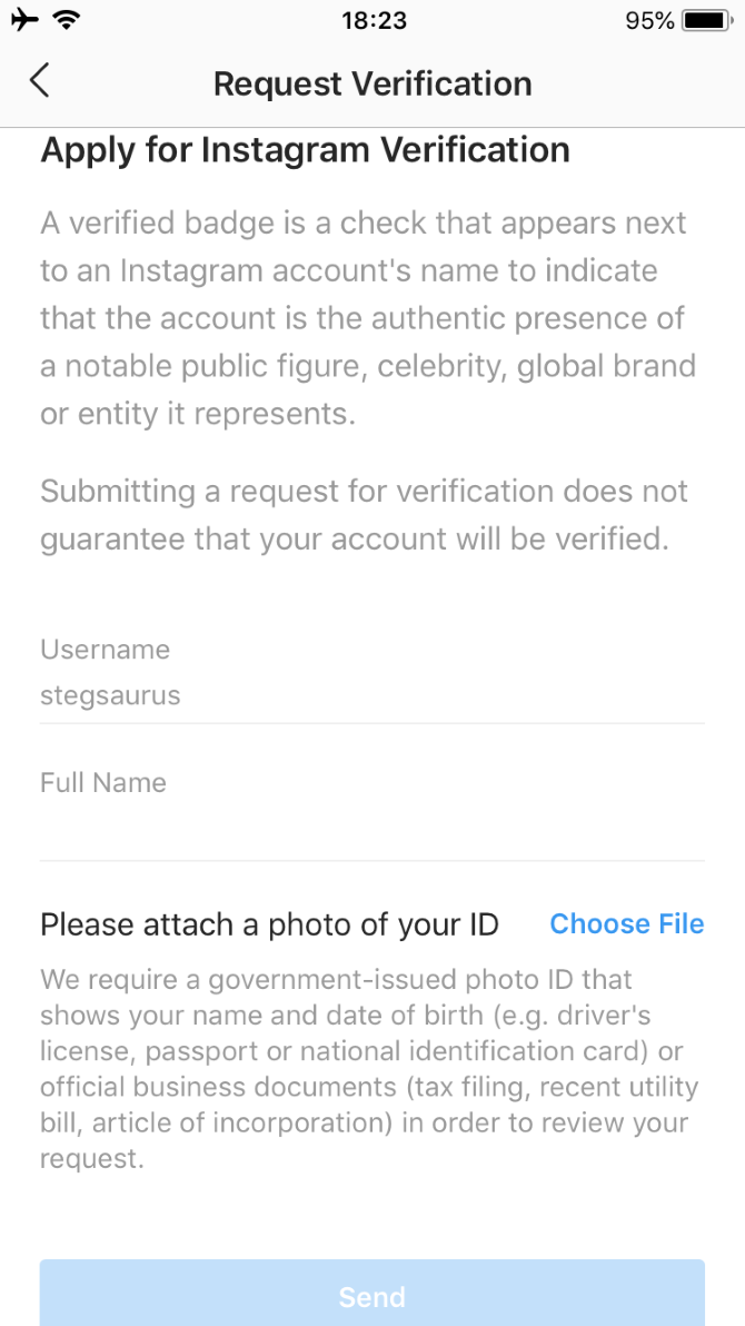 Image result for instagram verification