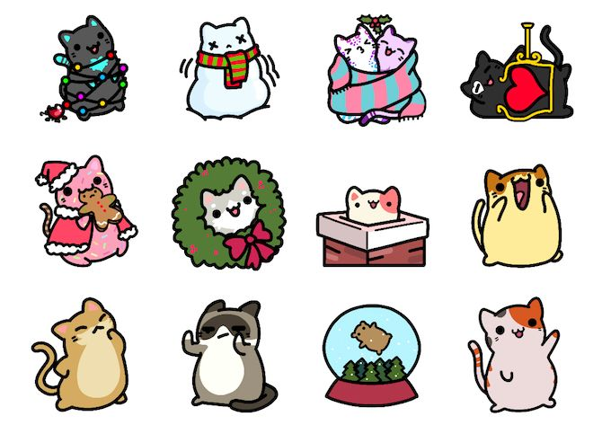 Kleptocats iMessage Sticker Packs