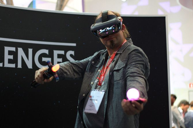 Virtual and Augmented Reality at IFA 2018 Was Missing In Action Levono Jedi Challenges 02 ifa2018