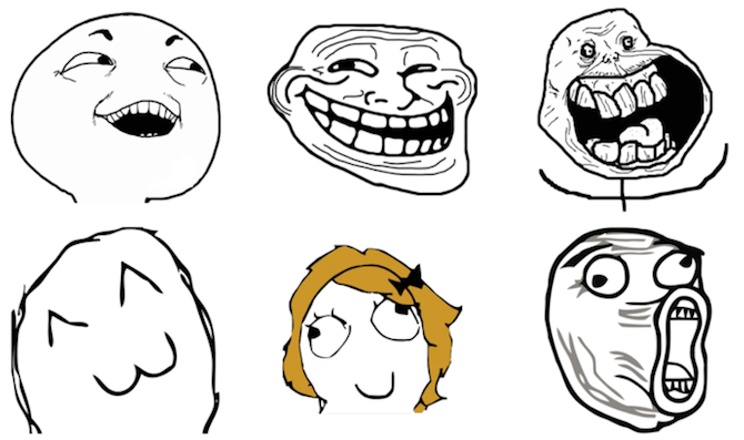 Meme Faces iMessage Sticker Pack
