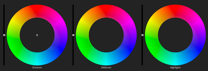 Premiere Pro color wheels