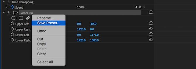 So erstellen Sie eigene Adobe Premiere Pro-Voreinstellungen