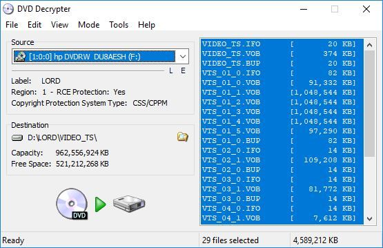 The 11 Best Tools for Ripping DVDs and Blu-rays to Your Computer - DVD Decrypter