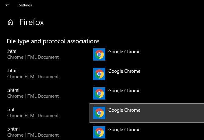 Windows 10 по умолчанию в приложении