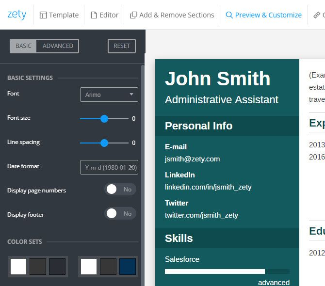 How Zety Can Help You Craft A Perfect Resume