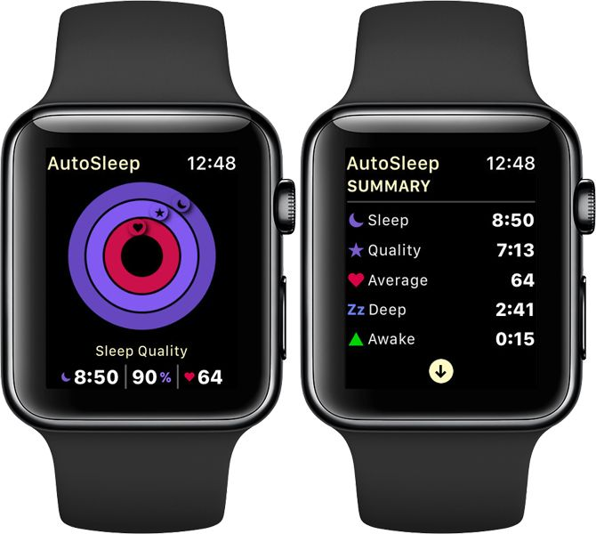 AutoSleep Apple Watch