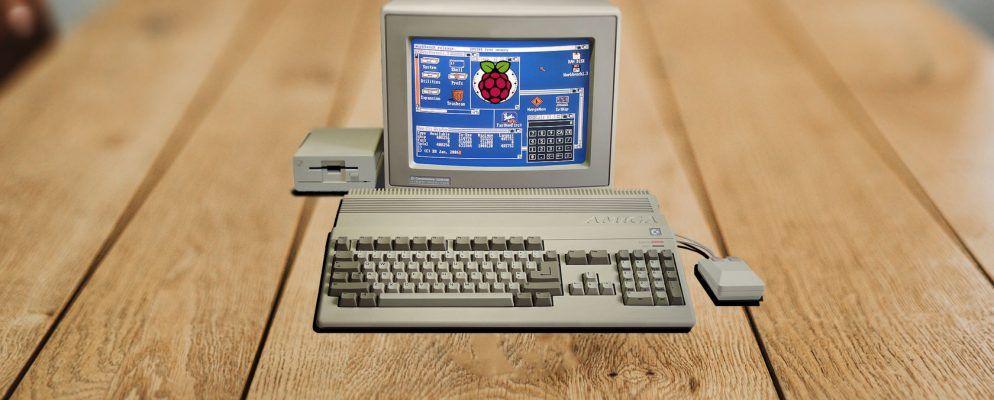 Wie man den Commodore Amiga auf einem Raspberry Pi mit Amibian