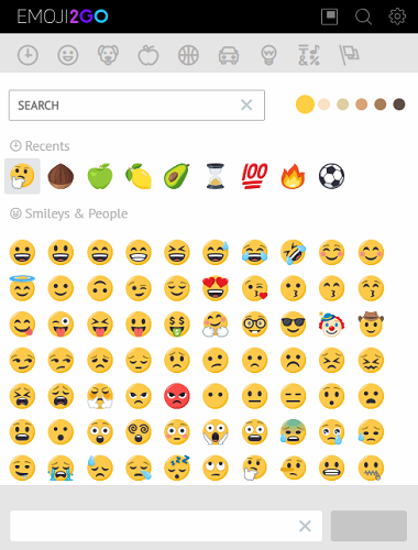 3 Useful Emoji Extensions for Chrome emoji2go 380x500