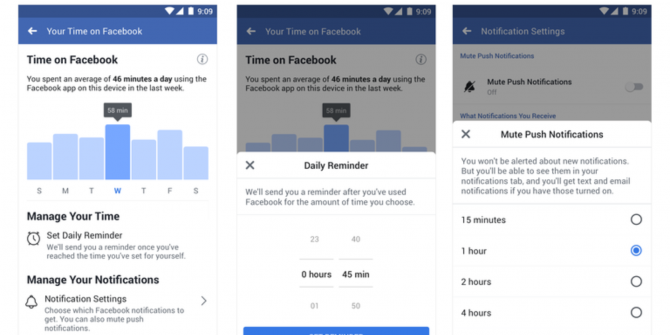 Facebook Helps You Fight Your Social Media Addiction