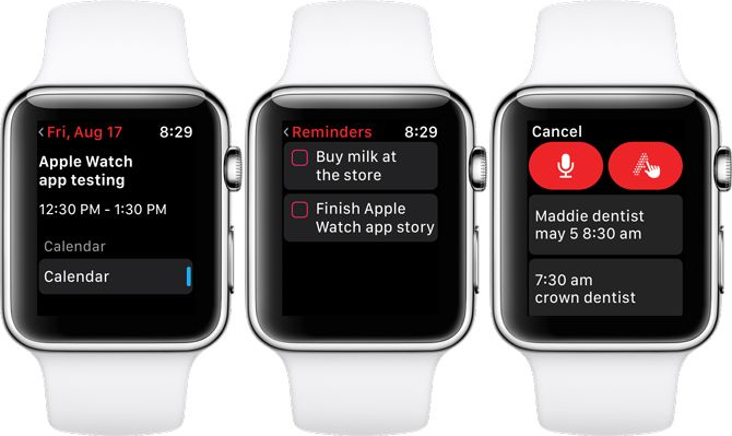 Fantastical 2 Apple Watch Calendar App