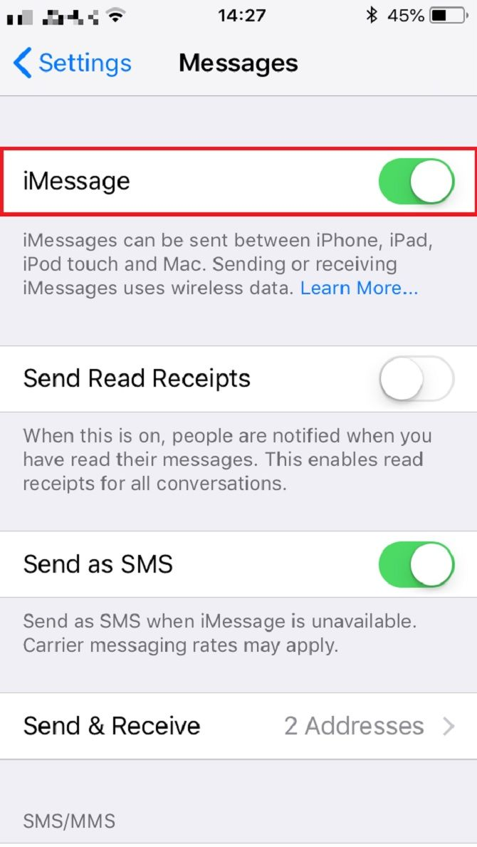 Imessage Smart Technology Celestial Stb Processors Media Processing Components And Sdk Support Lets Hope Youre Lucky Enough That This Quick Fix Solves The Problem