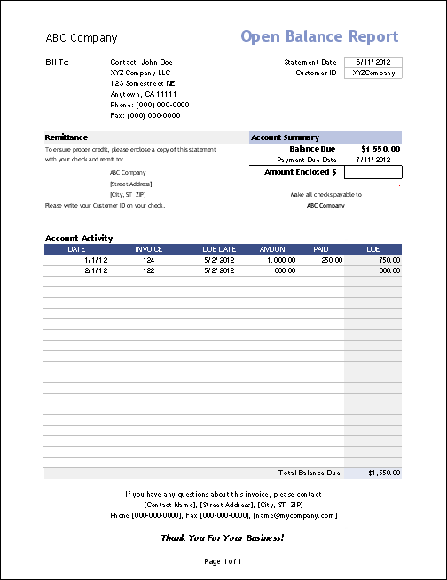 Simple Invoice Templates Every Freelancer Should Use - An invoice template