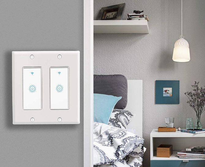 Kkcool 2-Gang Smart Light Switch