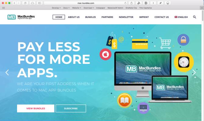 macbundle one stop website for app bundles