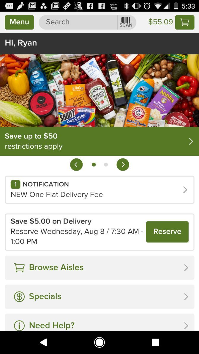 Shipt vs  Instacart vs  Peapod: Which Personal Shopping Service Is