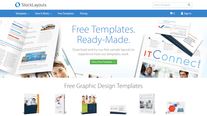 stocklayouts Illustrator Templates