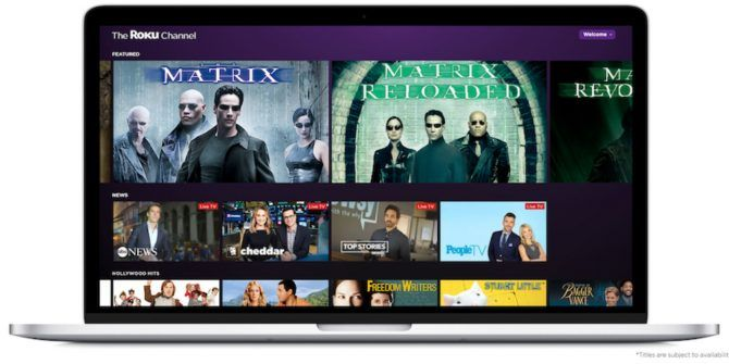 The Roku Channel Brings Free Movies to the Web