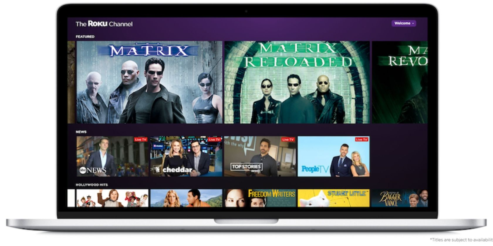 The Roku Channel Brings Free Movies To Web Smart Tech Tuft Micro Misty 360 Is Moving Beyond Its Own Platform By Launching On This Means You No Longer Need A Device Watch Rokus