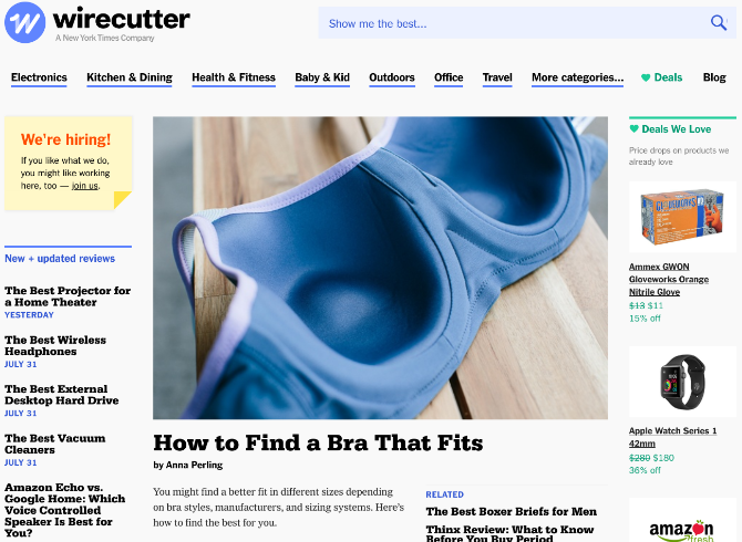 5 Sites to Find Product Reviews, Compare Anything, & Decide What to Buy wirecutter