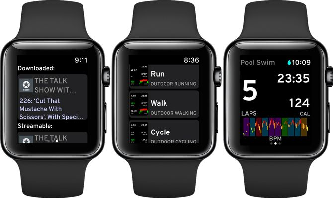 Workouts++ Apple Watch Workout App
