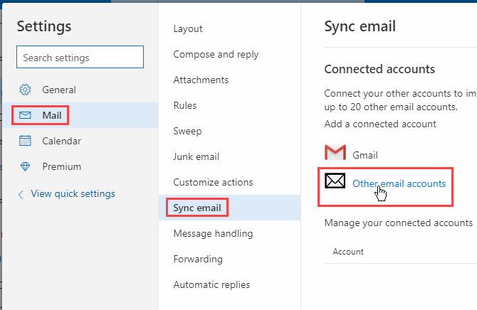 So fügen Sie ein POP-E-Mail-Konto in Outlook auf iOS und Android