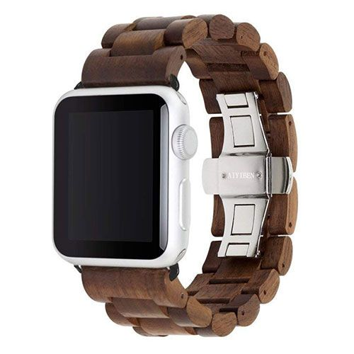 AYIBEN Hardwood Apple Watch bracelet