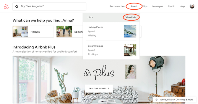 How to Manage Your Airbnb Wishlist (And 10 Incredible Places