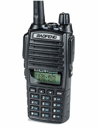 baofeng ham radio front