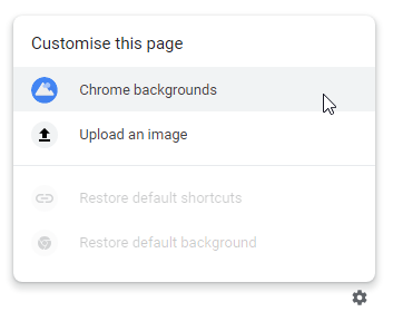 Chrome-New-Tab-Background-Options