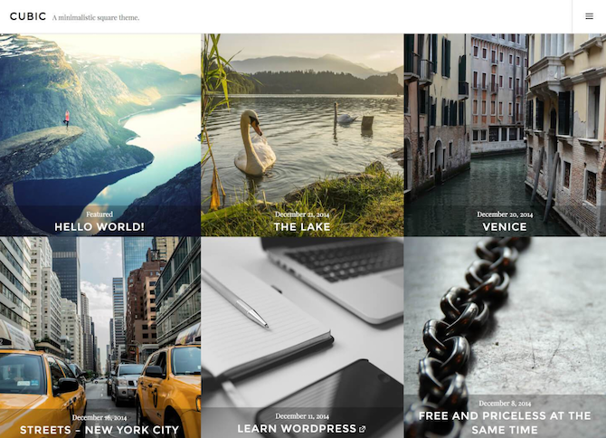 WordPress-Theme-Instagram-Links
