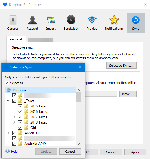 How to Sync Only Specific Files in Dropbox or Google Drive