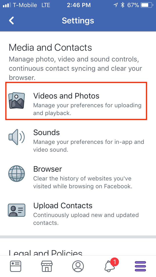 How to Upload Photos and Videos in HD on the Facebook Mobile App
