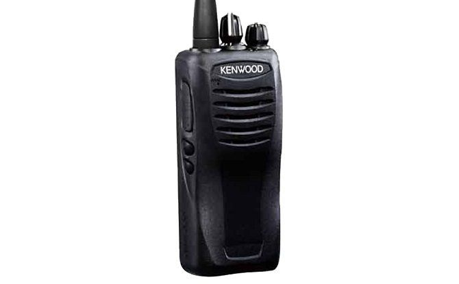 kenwood two way radio front