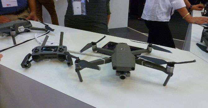 Drones at IFA 2018: What's New and What's Hot? Mavic 2 Zoom IFA2018