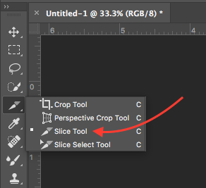 How to Add Hyperlinks in Adobe Illustrator or Photoshop Slice Tool