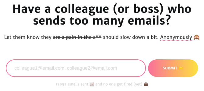 Curb Email Spammer Coworkers with Minimize Email