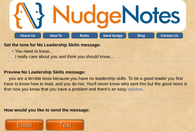 Send Anonymous Feedback to Annoying Coworkers with Nudge Notes