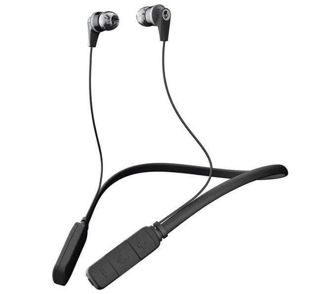 For neckband style bluetooth earbuds under $50, Skullcandy Ink'd is as good as it gets