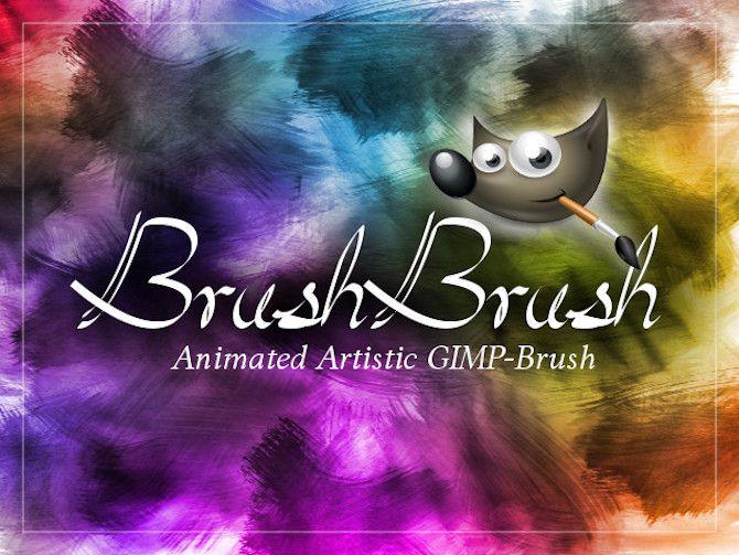 watercolor gimp brush