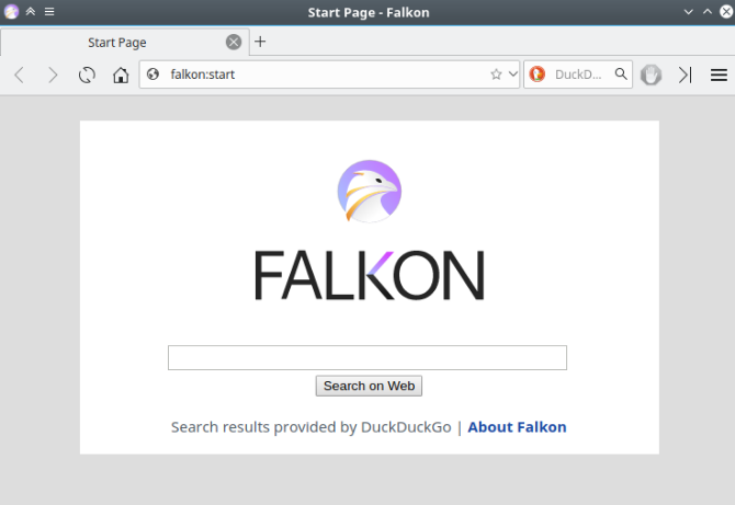 Falkon is one of the lightest and fastest browsers for Windows and Linux