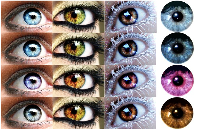 gimp brush eye color